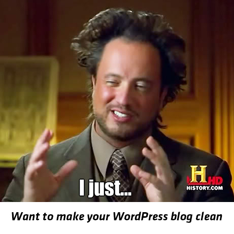 want-to-make-wordpress-clean-meme