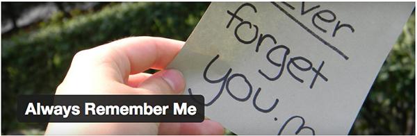 always-remember-me-plugin