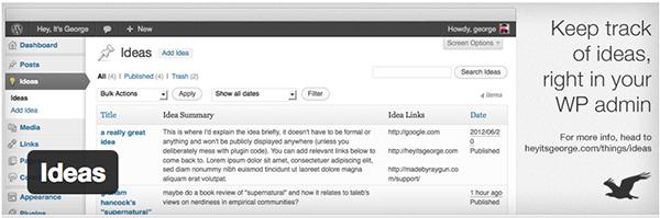 ideas-wordpress-plugin