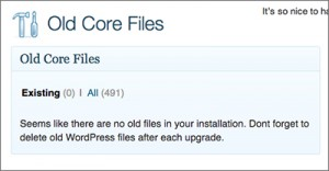Old Core Files