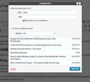 WordPress-link
