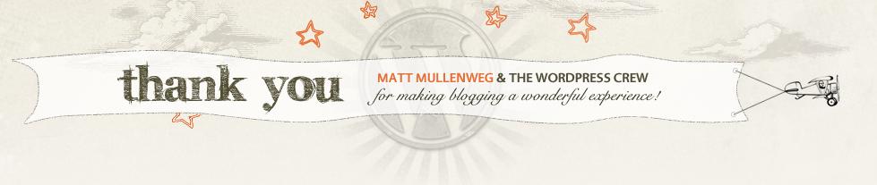 WordPress Anniversary Banner