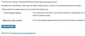 beta-testing-WordPress