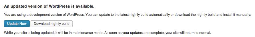 update-new-wordpress