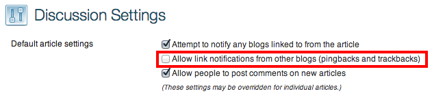 Disable Annoying Self Pingbacks in WordPress [With or
