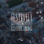 Festively: A Holiday Theme for WordPress
